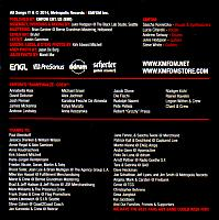 We Are KMFDM 2014 credits